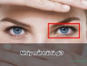 Nháy mắt trái, giật mắt trái ở nam và nữ là điềm gì?